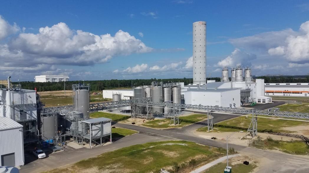 サウスカロライナ州の工場
