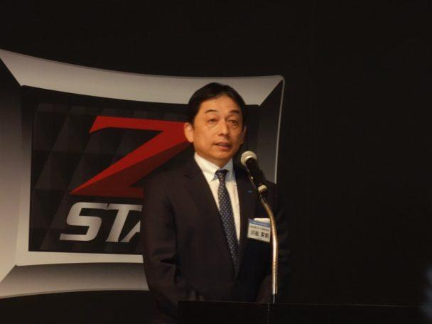 住友ゴム工業スポーツ事業本部長兼ゴルフビジネス部長の川松英明執行役員