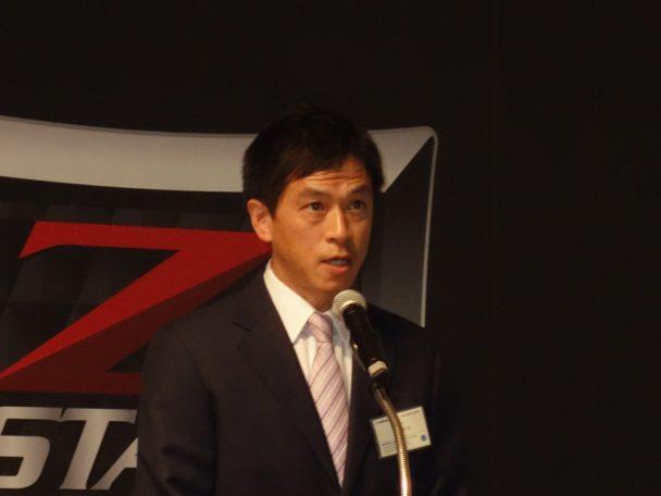 搭載技術の説明を行った商品開発部課長の大濱啓司氏
