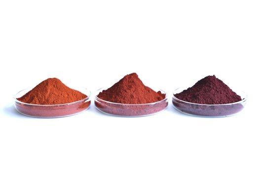 微粉砕赤色酸化鉄顔料