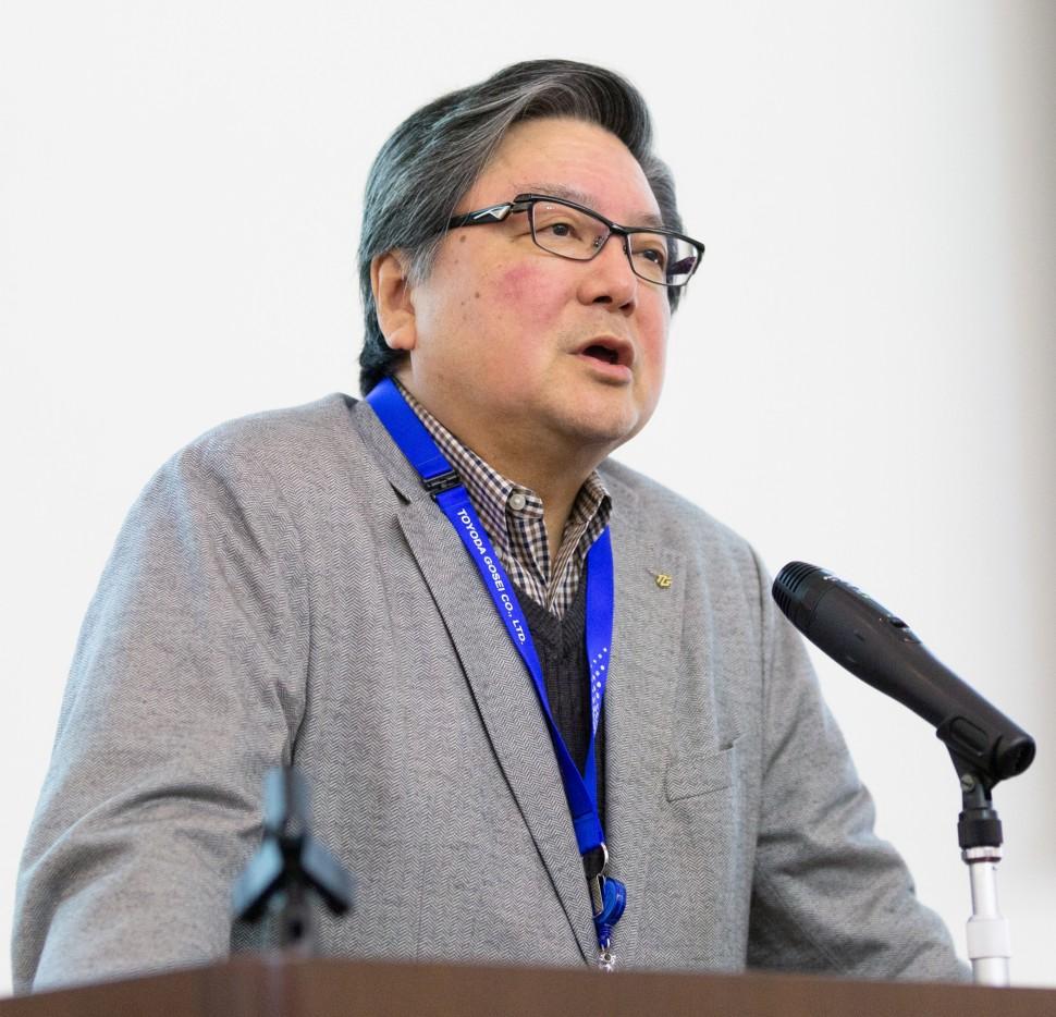 宮﨑社長による基調講演