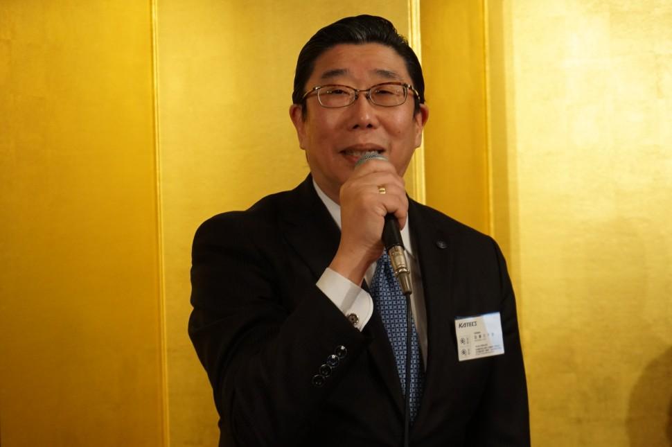 加藤巳千彦理事長