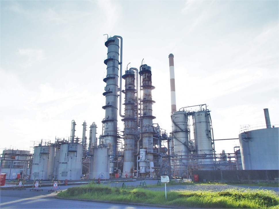 Phenol Plant at Ichihara Works Japan