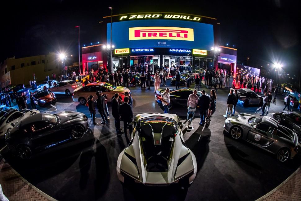 Pirelli P Zero World Dubai Open