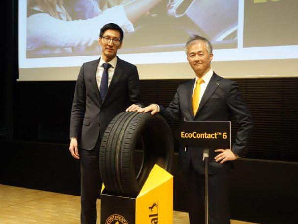 グレゴリー・メイ社長(左)と小川直人技術サービス&トレーニング・マネージャー