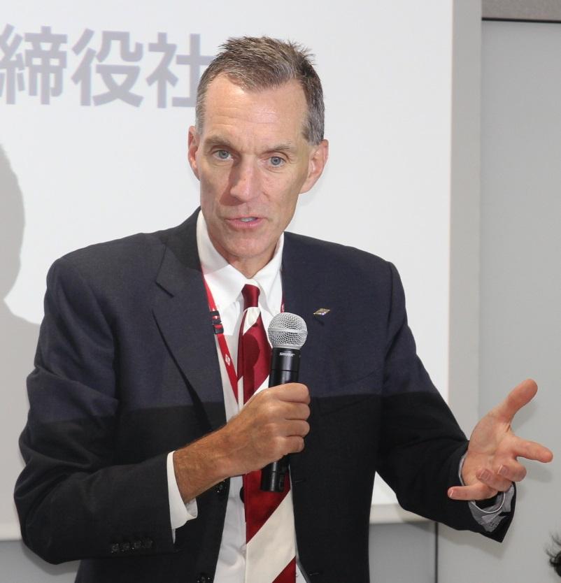 ダウ・ケミカル日本のジェニングス社長