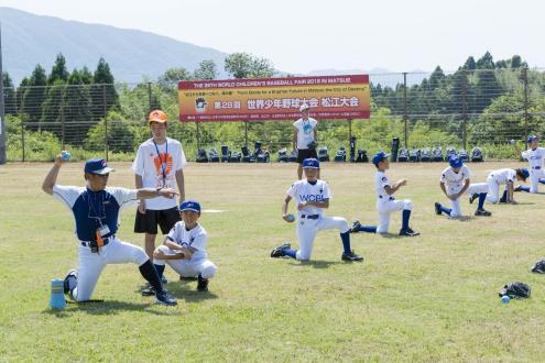 世界少年野球大会の様子1