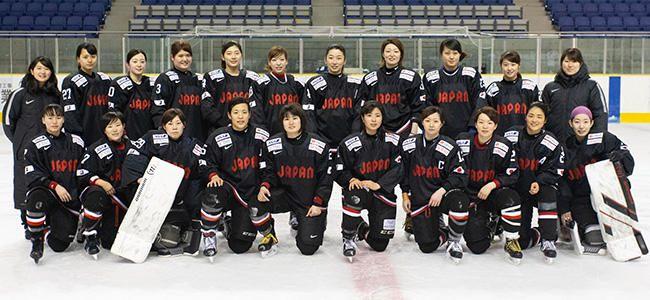 アイスホッケー女子日本代表チーム 「スマイルジャパン」