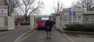 JSR MOL工場の入り口