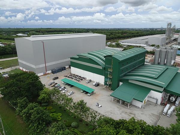 増強されるタイの工場