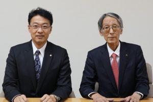 横田社長と早川会長