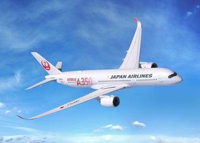 JALのA350XWB機