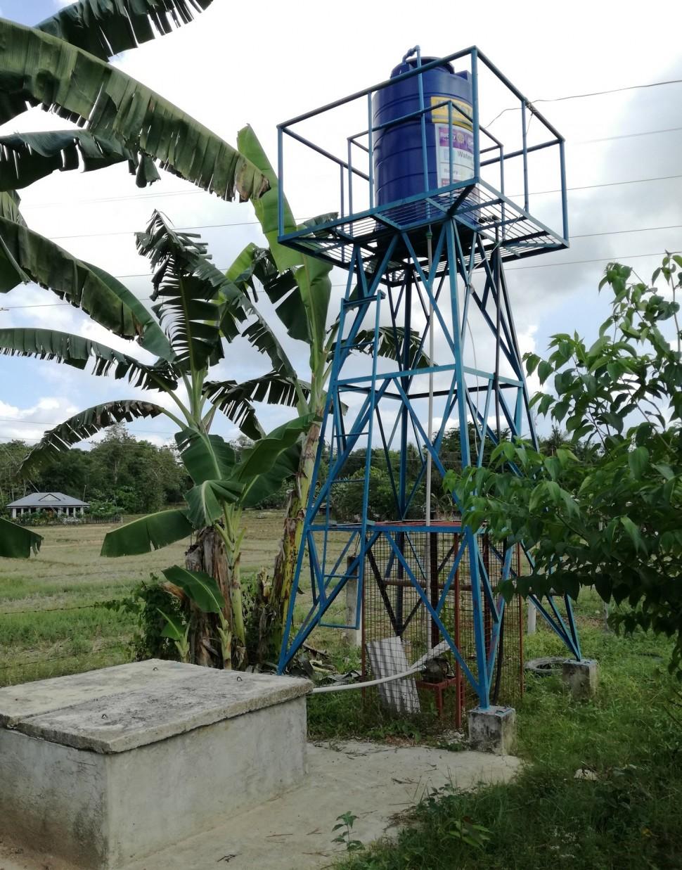 水道設備の建設に活用