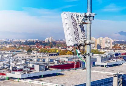 チルビン360使用の5G基地局