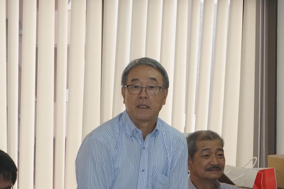 新発田大会委員長のあいさつ