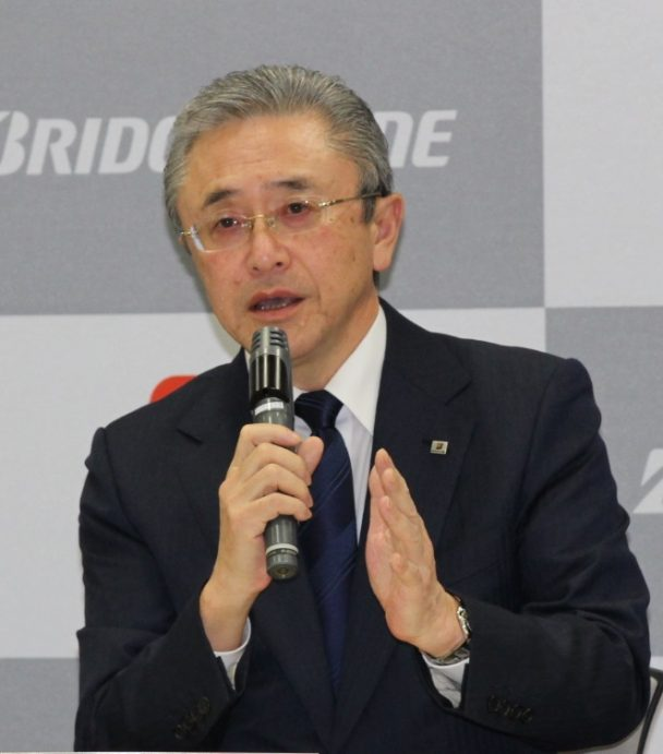 ブリヂストン・江藤社長
