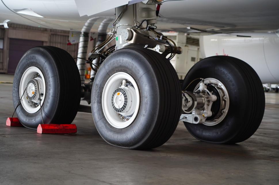 A350向けラジアルタイヤ