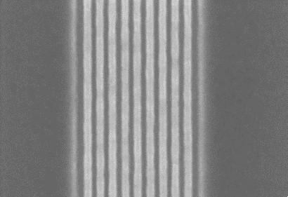 電子顕微鏡での上面の写真