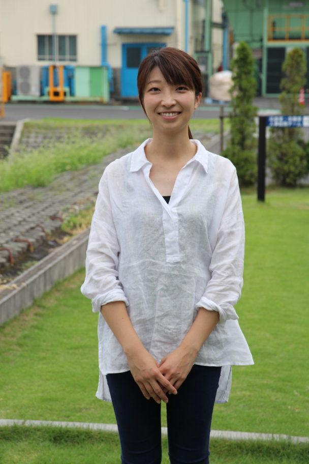 藤倉コンポジットの雨森由佳さん