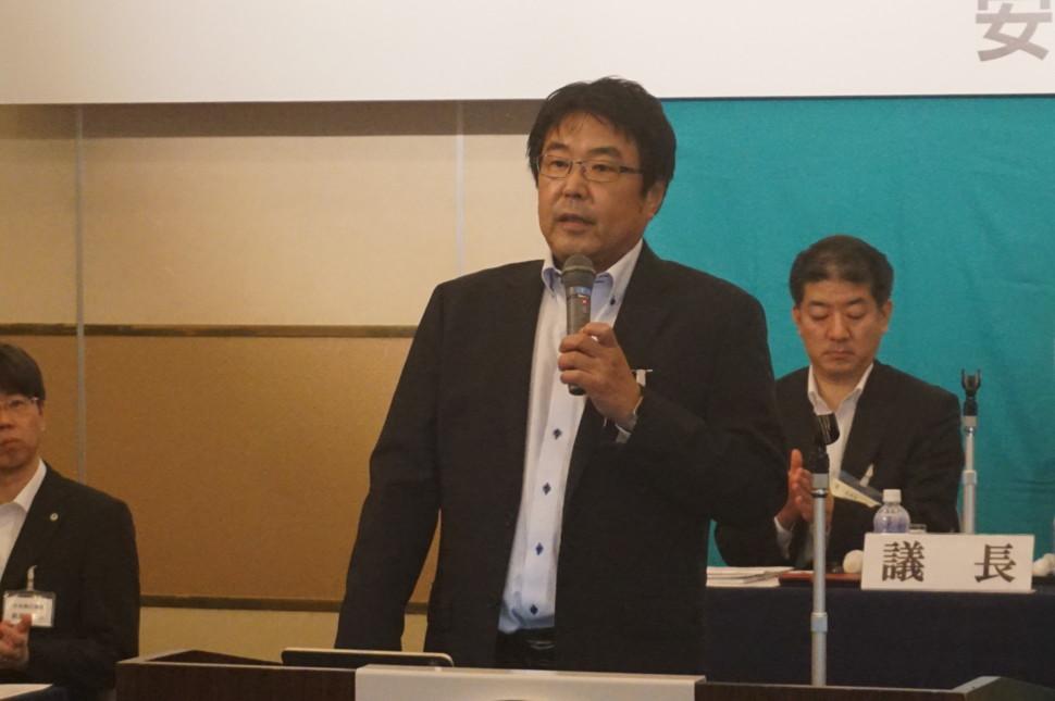 石塚委員長の挨拶