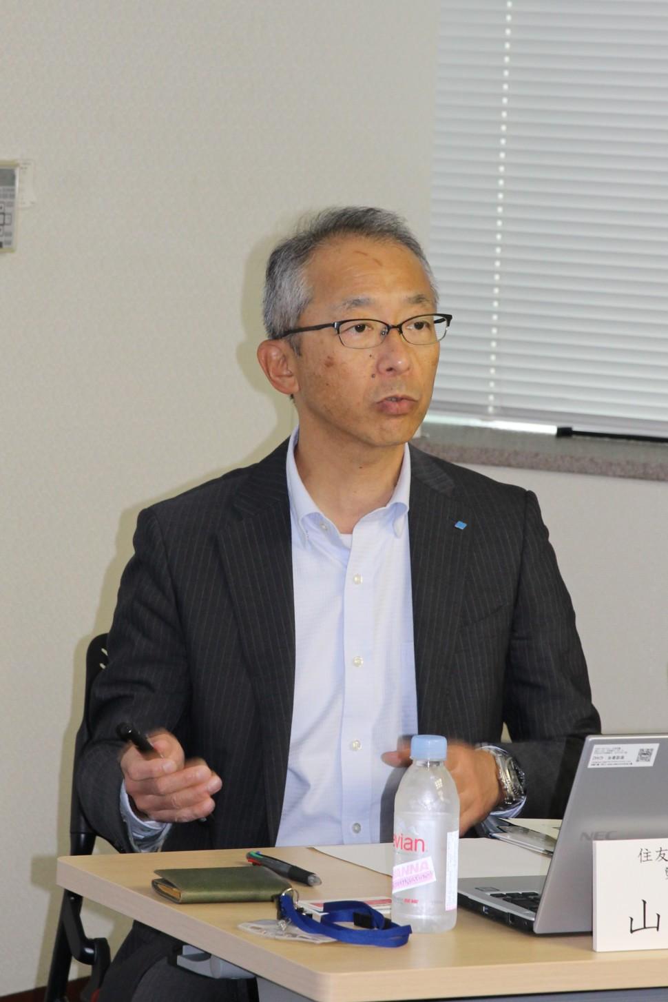 製造IoT推進室長の山田清樹氏