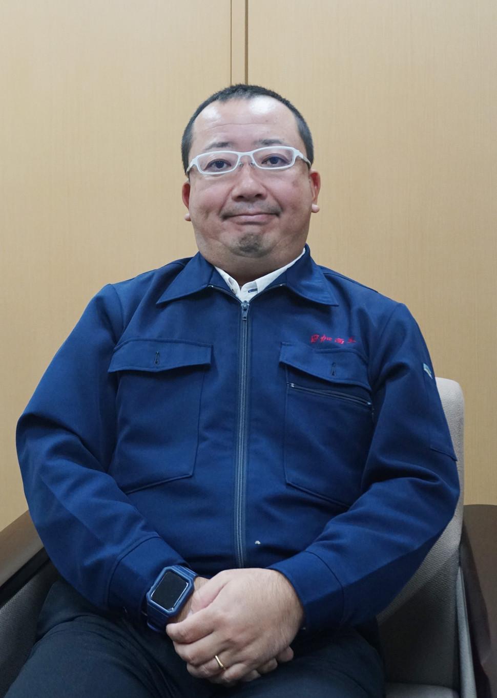 加藤暢利社長