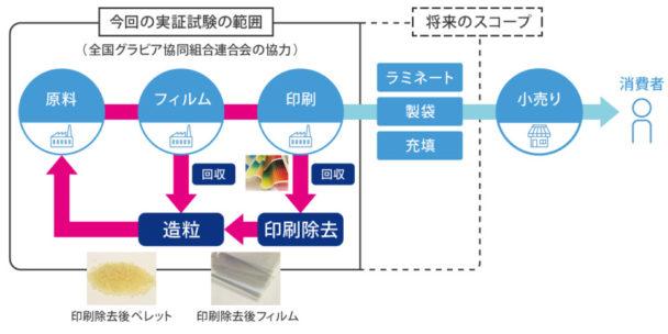 実証試験のモデル図