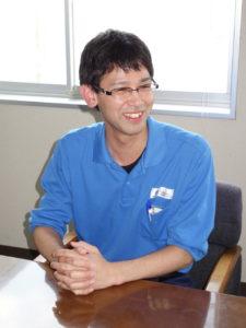 技術製造本部 技術統括部技術開発グループ材料技術チームの青海氏