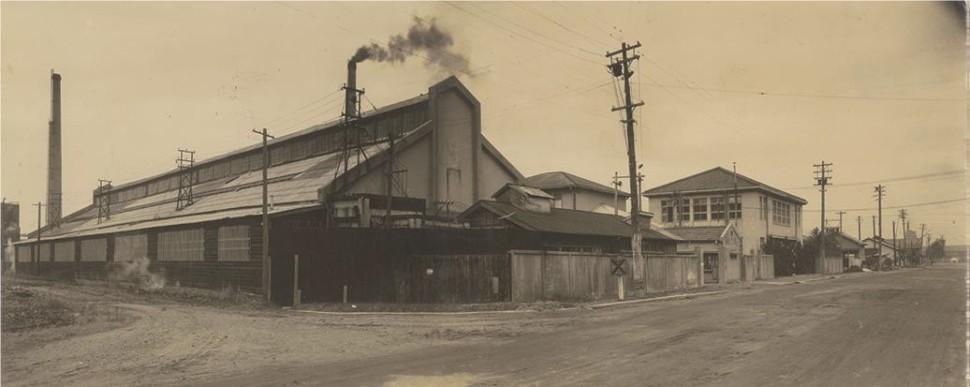 1942年の四日市工場