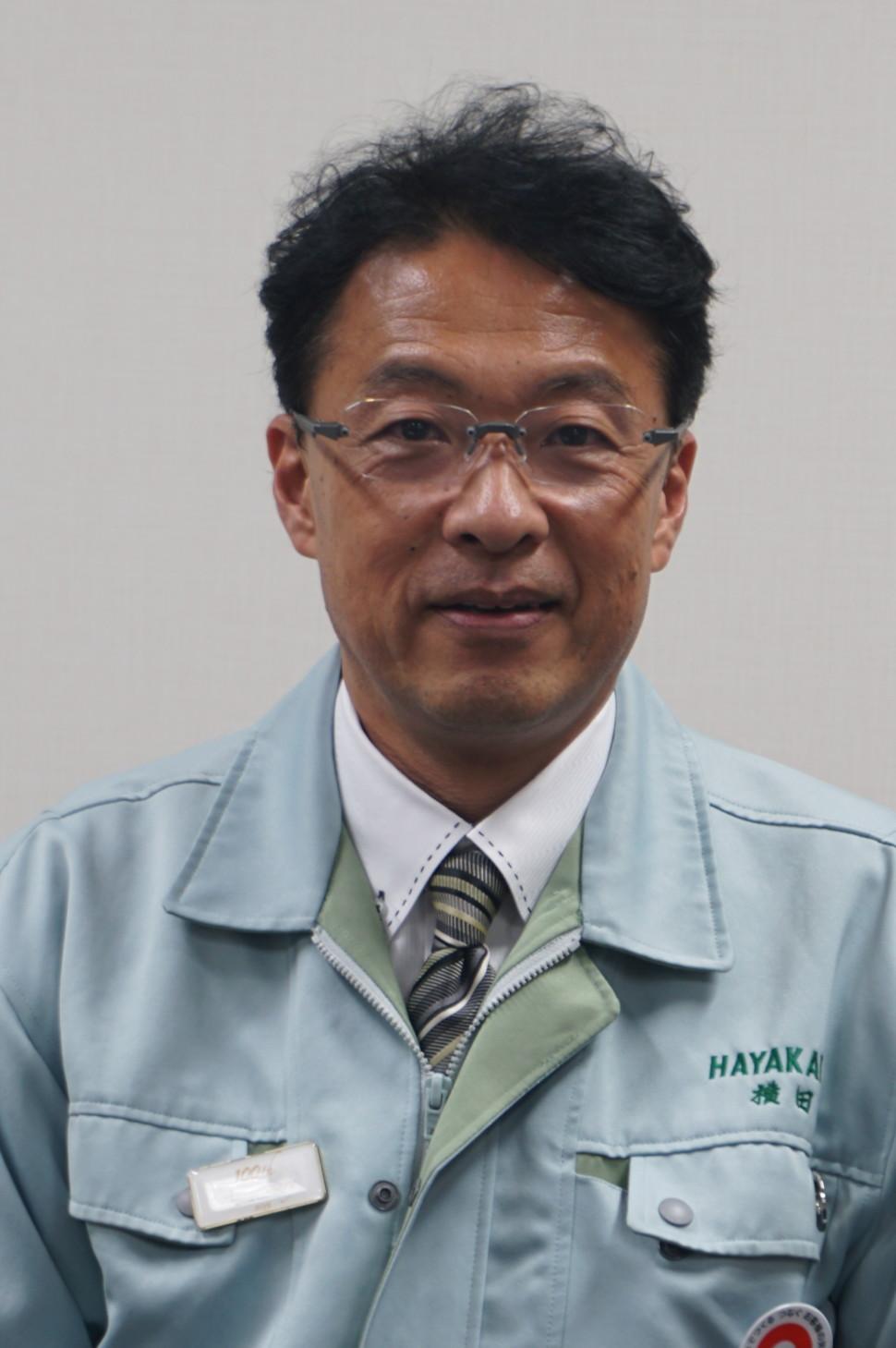 早川ゴム横田幸治社長