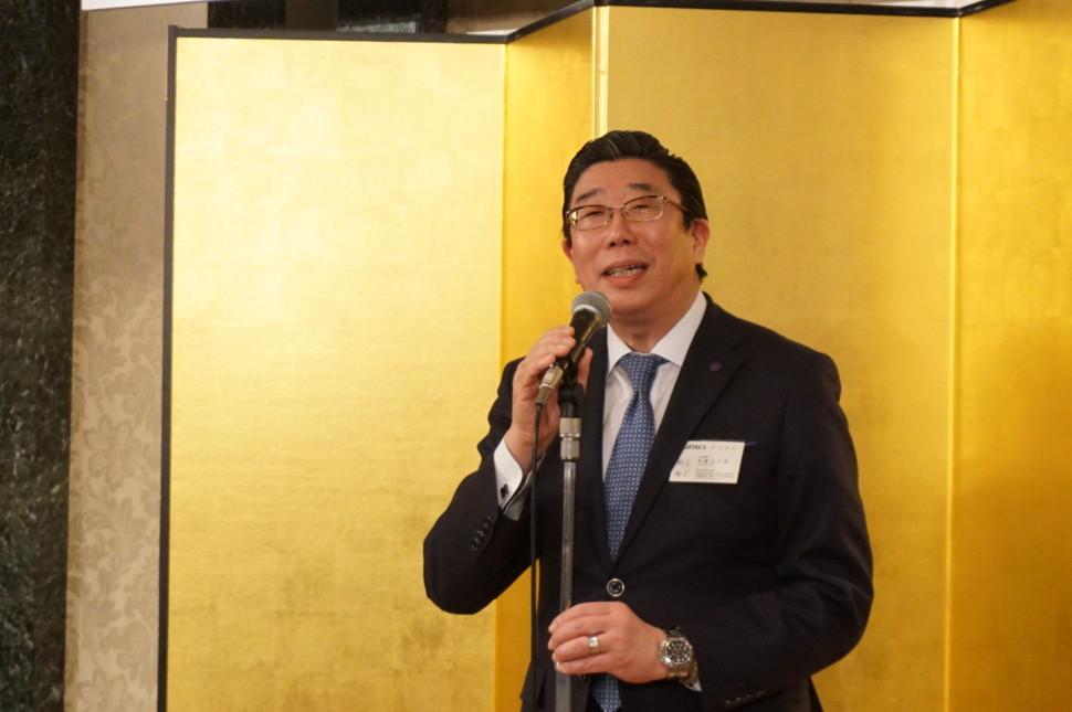加藤理事長の挨拶