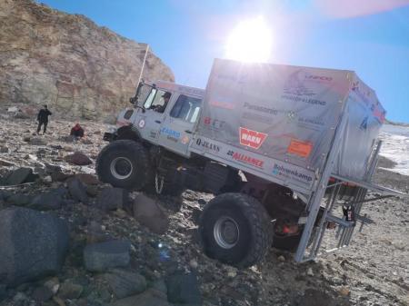 アライアンス392HD装着のトラック