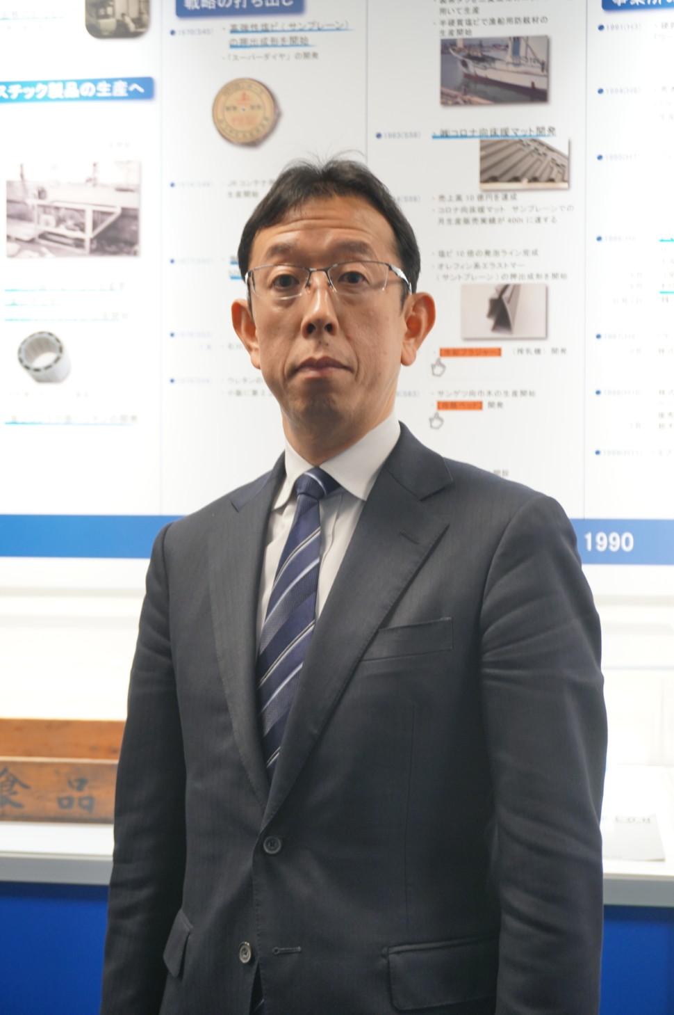 石川明一社長