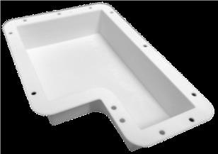 PBTパウダーによる粉末造形3Dプリンター造形品サンプル④