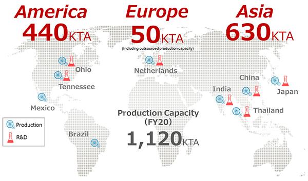 アジア、アメリカに続き、欧州での事業強化へ