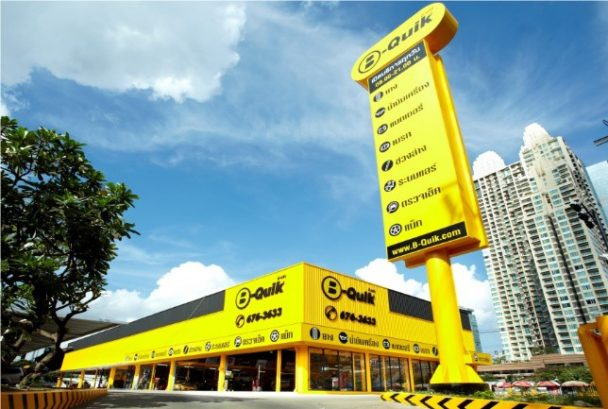 バンコクのBQ社店舗