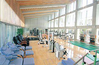 施設内のトレーニングルーム