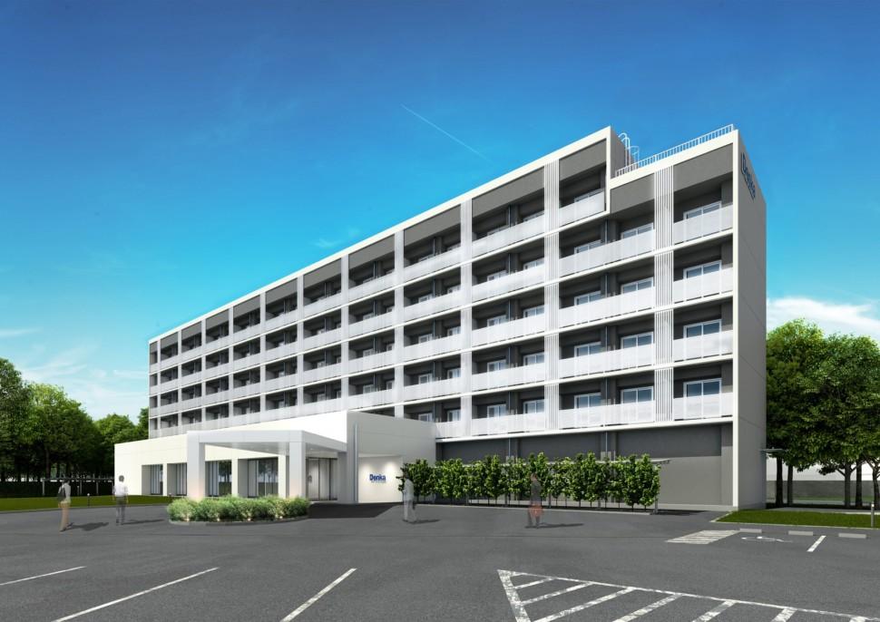 青海工場新独身寮外観
