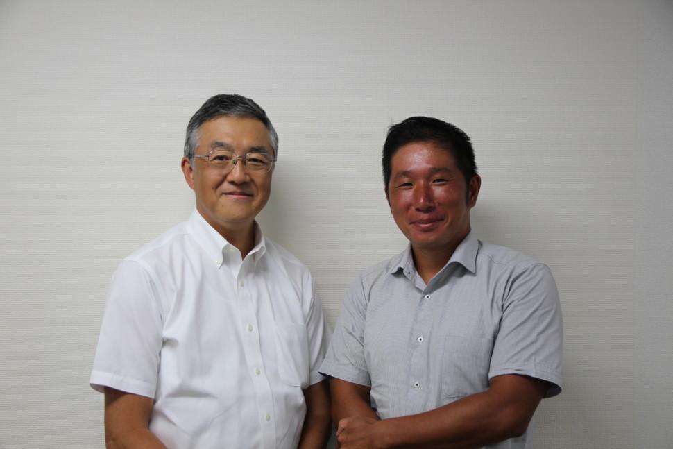 加藤社長と木崎部長代理