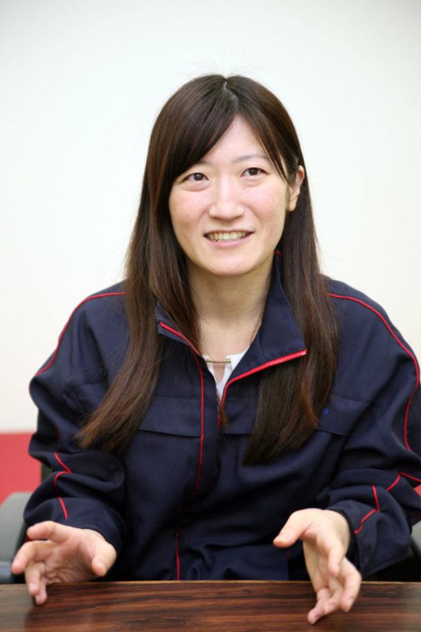 先端材料開発部 佐藤厚子さん
