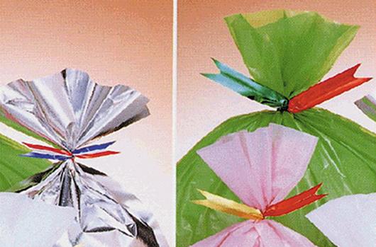 他用途例の包装材(ビニタイ)
