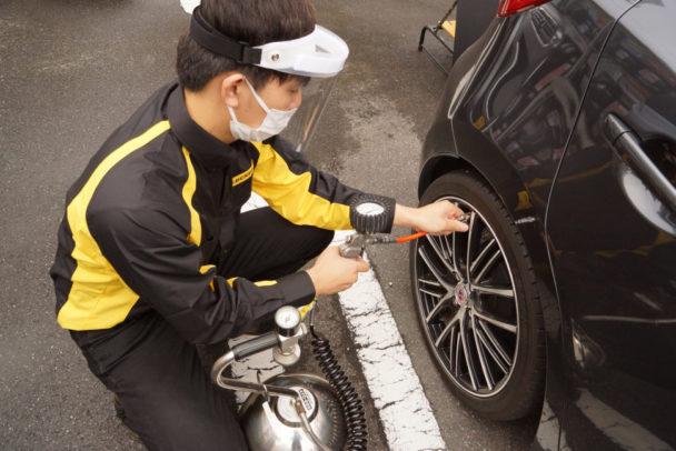 住友ゴムのタイヤ安全点検 25%の車両で整備不良を確認
