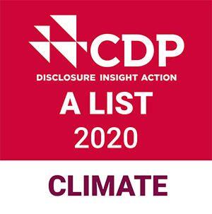 「気候変動Aリスト」企業に選定