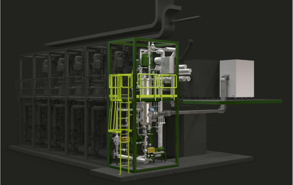 廃プラスチック再生技術のモジュール