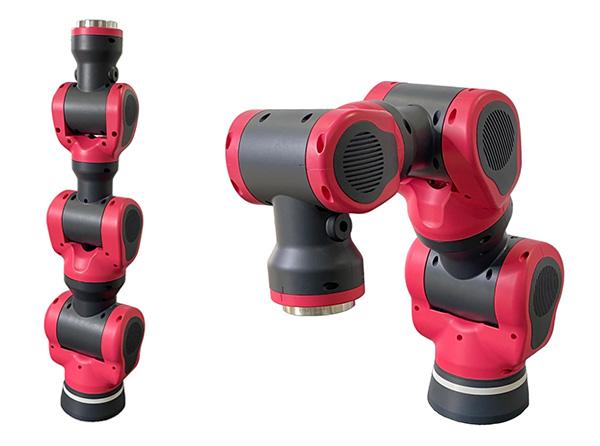 開発した協働ロボット試作機