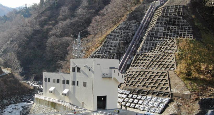 新青海川発電所建屋
