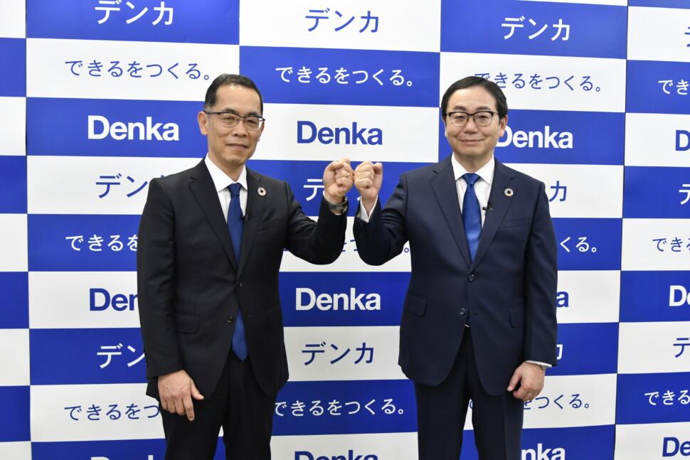 今井氏(左)と山本社長(右)