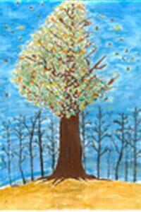部門長賞受賞作品「自然を木鳥(きちょう)に」