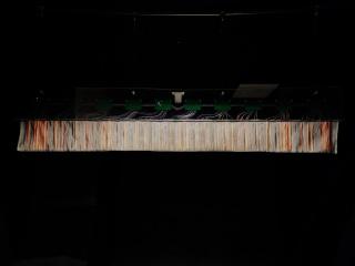 同光源を織り込んだ西陣織①