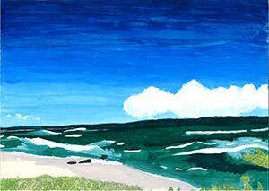 「角島の海」